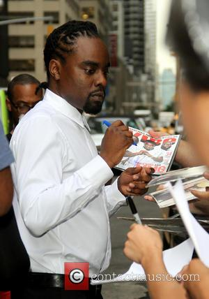 Wale - Celebrities outside the Ed Sullivan Theater for their taping on the Late Show with David Letterman. - New...