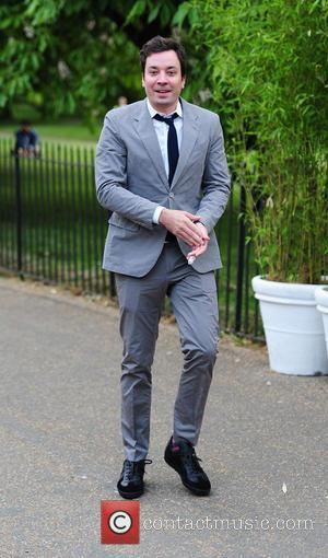 Jimmy Fallon - The Serpentine Gallery Summer Party held at Kensington Gardens - Arrivals - LONDON, United Kingdom - Thursday...