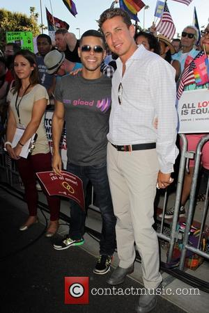 Wilson Cruz - West Hollywood Rally to Celebrate the Supreme Courts' Supreme Court Striking Down the Defense of Marriage Act...