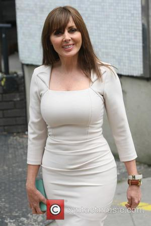 Carol Vorderman - Celebrities leaving the ITV Studios in London - London, United Kingdom - Thursday 27th June 2013