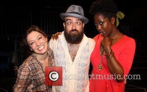 Iman, Zarah Mahler and Eric Anderson