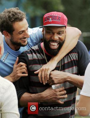 Baron Davis - The Sixth Edition Steve Nash Foundation Showdown at the Sarah D. Roosevelt Park - Hoboken, NY, United...
