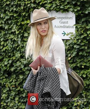 Natasha Bedingfield - Wimbledon Tennis Championship 2013 - Day 4 - Celebrity Sightings - London, Wimbledon, United Kingdom - Thursday...