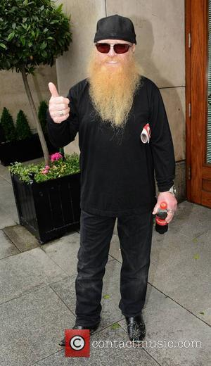 Dusty Hill - Members of ZZ Top leaving their Dublin hotel ahead of their concert 'Live At The Marquee' in...