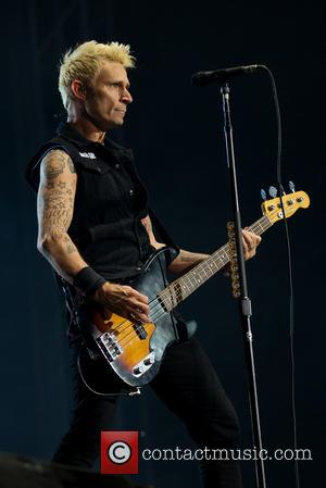 Mike Dirnt and Green Day