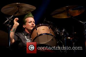 Tré Cool and Green Day