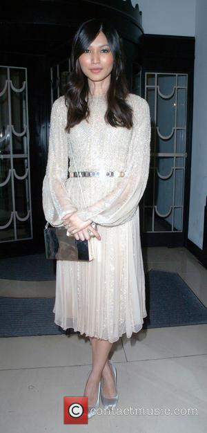 Gemma Chan - Nicholas Oakwell Couture Show at Claridges Hotel - London, United Kingdom - Thursday 27th June 2013