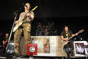 John Rzeznik - Goo Goo Dolls perform on stage at the Molson Canadian Amphitheatre - Toronto, Canada - Thursday 27th...