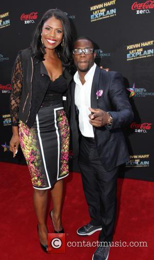 Omarosa Manigault and Kevin Hart - Premiere of 'Let Me Explain' with Kevin Hart during the 2013 BET Experience at...