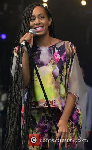Solange Knowles - The 2013 Glastonbury Festival - Day 1 - Performances at Glastonbury Festival - Glastonbury, United Kingdom -...