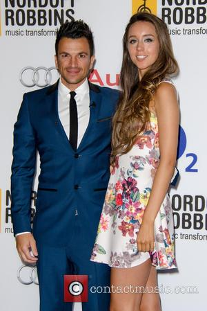 Peter Andre , Emily MacDonagh - Nordoff Robbins O2 Silver Clef Awards held at the London Hilton Park Lane -...
