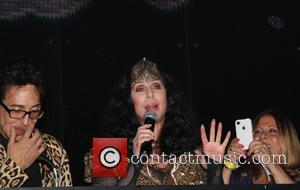 Cher - Cher makes an appearance at the Marquee Nightclub for the grand opening of 'Q Thursdays' - New York...