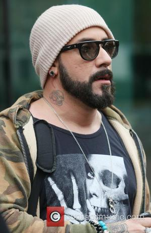 AJ Mclean and The Back Street Boys - Celebrities at the ITV studios - London, United Kingdom - Friday 28th...