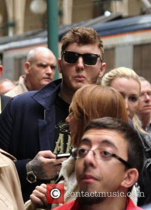 James Arthur - James Arthur at Gare du Nord Eurostar station in Paris - Paris, France - Friday 28th June...