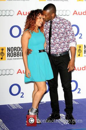 Oritse Williams - Nordoff Robbins O2 Silver Clef Awards held at the London Hilton Park Lane - Arrivals - London,...