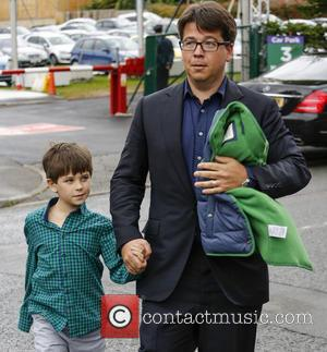 Michael McIntyre - Wimbledon Tennis Championship 2013 - Day 5 - Celebrity Sightings - London, United Kingdom - Friday 28th...