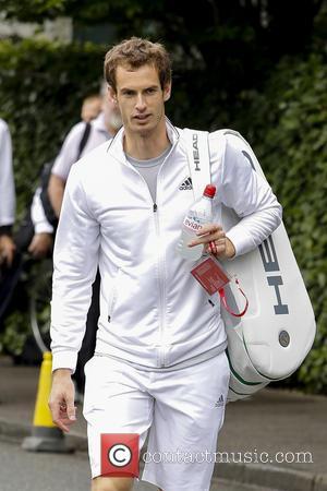 Andy Murray - Wimbledon Tennis Championship 2013 - Day 5...