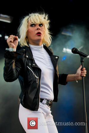 Maja Ivarsson and The Sounds - Bravalla Festival - Day 2 - Performances - Norrkoping, Sweden - Friday 28th June...