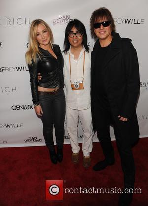 Nikki Lund Richie Sambora - Genlux Summer Issue Party - Beverly Hills, CA, United States - Friday 28th June 2013