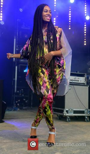 Solange Knowles - The 2013 Glastonbury Festival - Day 1 - Performances - Glastonbury, United Kingdom - Friday 28th June...