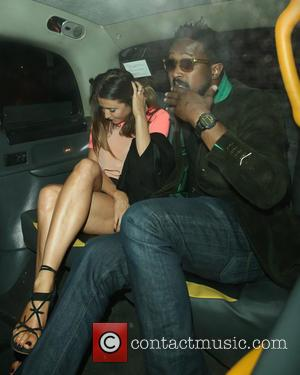 Lisa Snowdon - Celebrities at Morton's 2&8 club in Mayfair - London, United Kingdom - Friday 28th June 2013