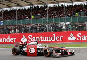 Jenson Button - Formula 1 British Grand Prix at Silverstone - Practice Race - Silverstone, Northamptonshire, United Kingdom - Friday...