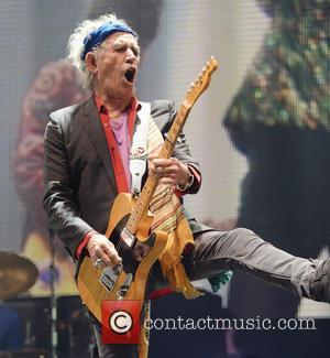 Keith Richards and The Rolling Stones - The 2013 Glastonbury Festival - Day 2 - Performances - Glastonbury, United Kingdom...