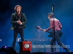 Mick Jagger, Ronnie Wood and Rolling Stones