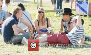 Billie Piper - The 2013 Glastonbury Festival - Day 2 - Celebrity Sightings - Glastonbury, United Kingdom - Saturday 29th...