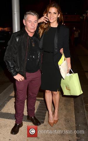 Michael Doyle and Amanda Byram