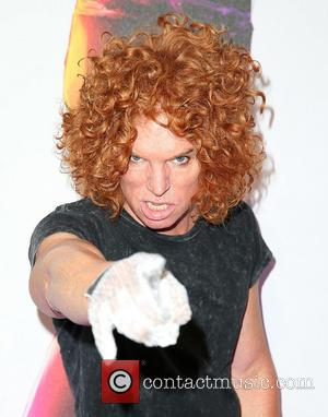 Carrot Top - World premiere of 'Michael Jackson One' at Mandalay Bay Hotel & Casino - Arrivals - Las Vegas,...