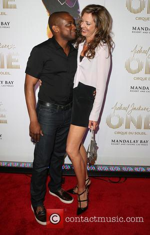 Dule Hill and Allison Janney - World premiere of 'Michael Jackson One' at Mandalay Bay Hotel & Casino - Arrivals...