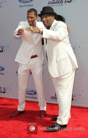 Nick Cannon , James Cannon - The 2013 BET Awards held at Nokia Theatre - Arrivals at Nokia Plaza L...