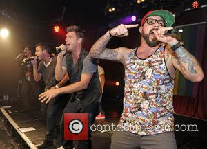 Backstreet Boys, A. J. McLean, Howie Dorough, Nick Carter, Kevin Richardson and Brian Littrell - Backstreet Boys perform at G-A-Y...