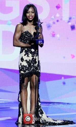 Gabby Douglas - The 2013 BET Awards held at Nokia Theatre - Inside - Los Angeles, California, United States -...