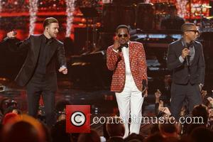 Justin Timberlake, Charlie Wilson and Pharrell Williams