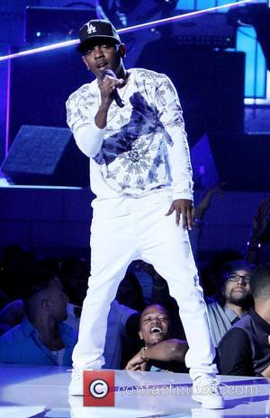 Kendrick Lamar - The 2013 BET Awards held at Nokia Theatre - Inside - Los Angeles, California, United States -...