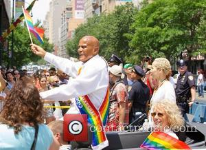 Harry Belafonte - Gay Pride March 2013 in NYC - New York City, NY, United States - Sunday 30th June...