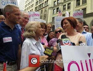 Christine Quinn, Edie Windsor and Jimmy Van Bramer