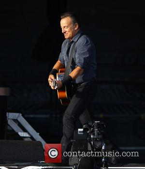 Bruce Springsteen - Hard Rock Calling - Day 2 - Performances at Queen Elizabeth Olympic Park - London, United Kingdom...