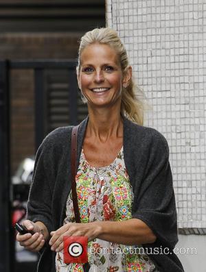 Ulrika Jonsson - Ulrika Jonsson leaves ITV Studios - London, United Kingdom - Monday 1st July 2013