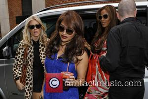 Mollie King, Rochelle Humes, Vanessa White and Rochelle Wiseman