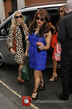 Mollie King, Vanessa White and Rochelle Wiseman