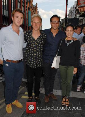 Francis Boulle, Jamie Laing, Andy Jordan and Louise Thompson