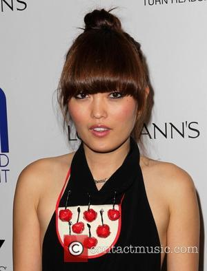 Hana Mae Lee - Friend Movement Campaign benefit concert at the El Rey Theatre - Los Angeles, California, United States...