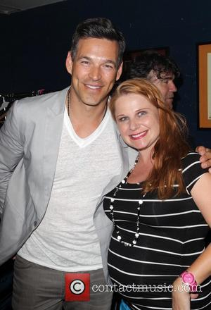 Eddie Cibrian and Guest - Friend Movement Campaign benefit concert at the El Rey Theatre - Backstage - Los Angeles,...