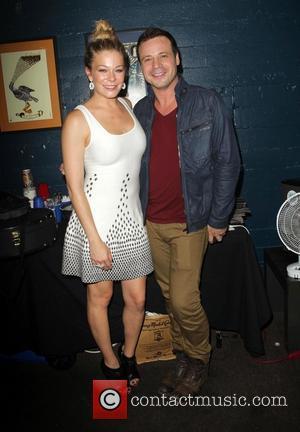 LeAnn Rimes and Elliot Dal Pra London - Friend Movement Campaign benefit concert at the El Rey Theatre - Backstage...