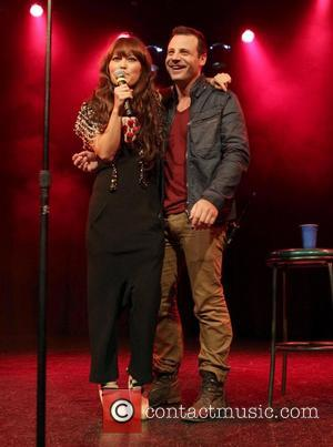 Hana Mae Lee and Elliot Dal Pra London - Friend Movement Campaign benefit concert at the El Rey Theatre -...