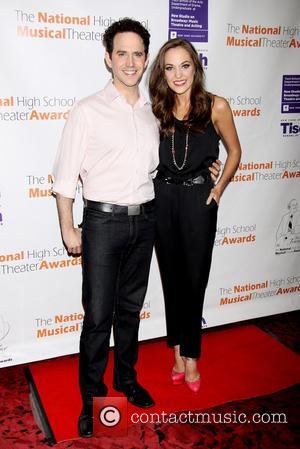 Santino Fontana and Laura Osnes - The National High School Musical Theater Jimmy Awards held at the Minskoff Theatre -...