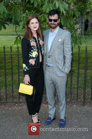 Bonnie Wright and Simon Hammerstein
